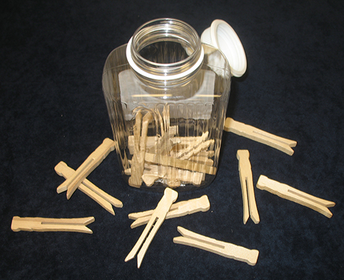 Drop the Clothespin