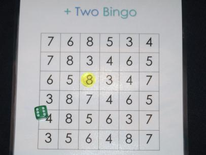 Plus Two Bingo