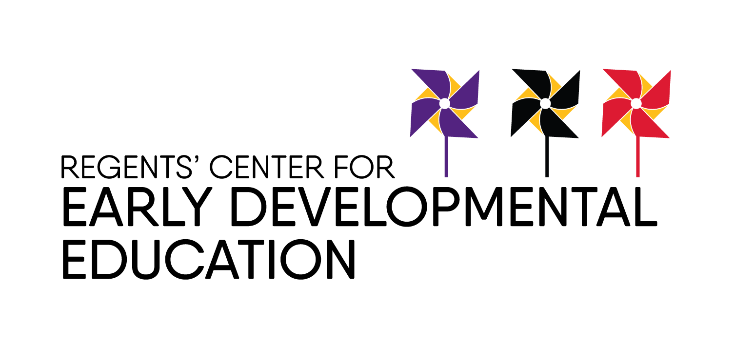 Regents Center For Early Developmental Education Logo