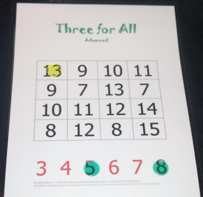 Three for All Advanced