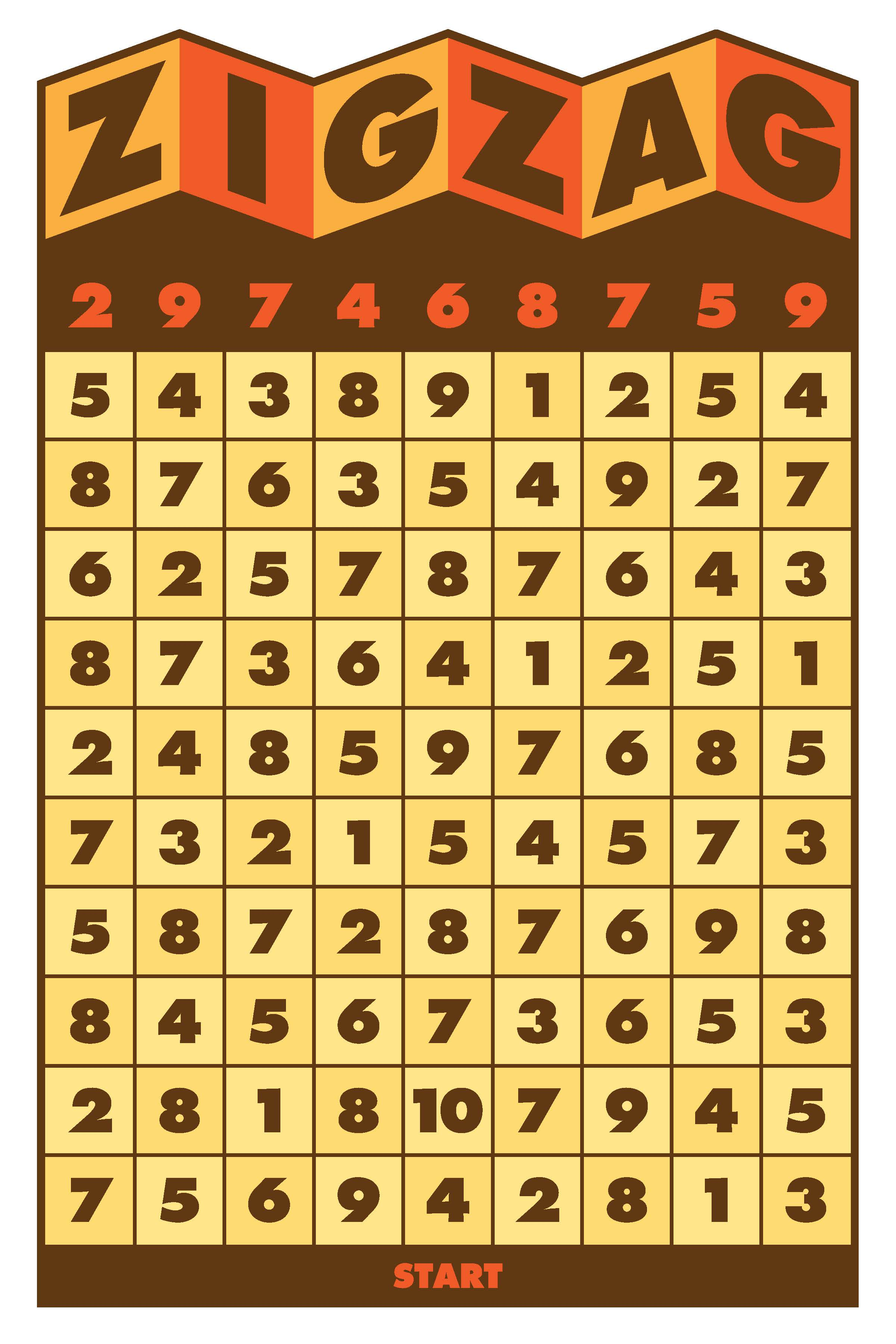 ZigZag game