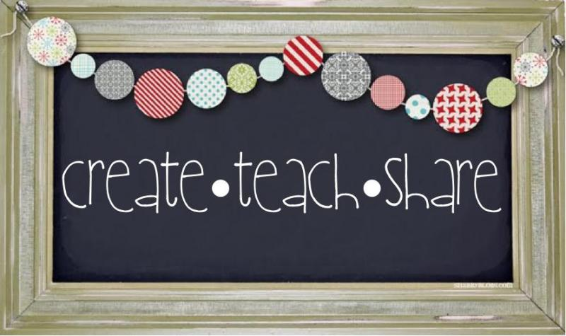 create, teach, share banner