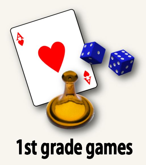 1st grade games