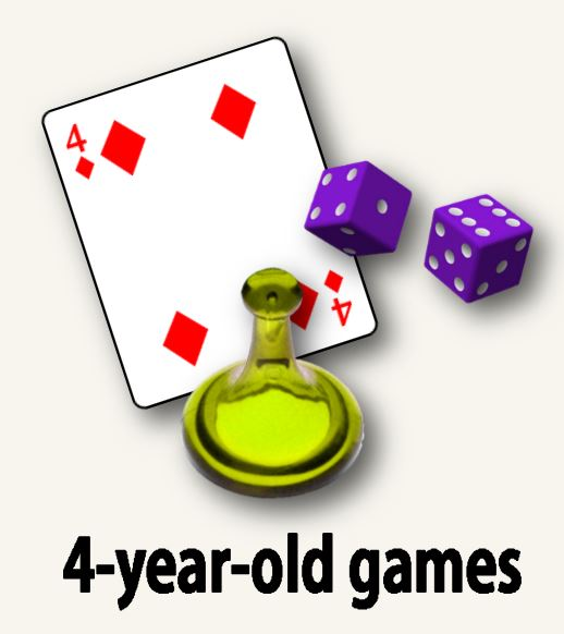 4-year-old games