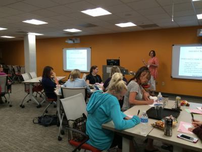 Teachers Exploring Ramps & Pathways in Lincoln, NE