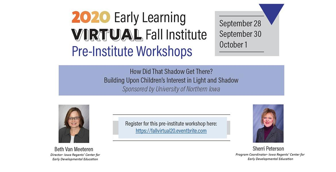 2020 Early Learning Virtual Fall Institute