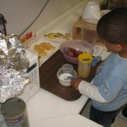 Getting ingredients ready