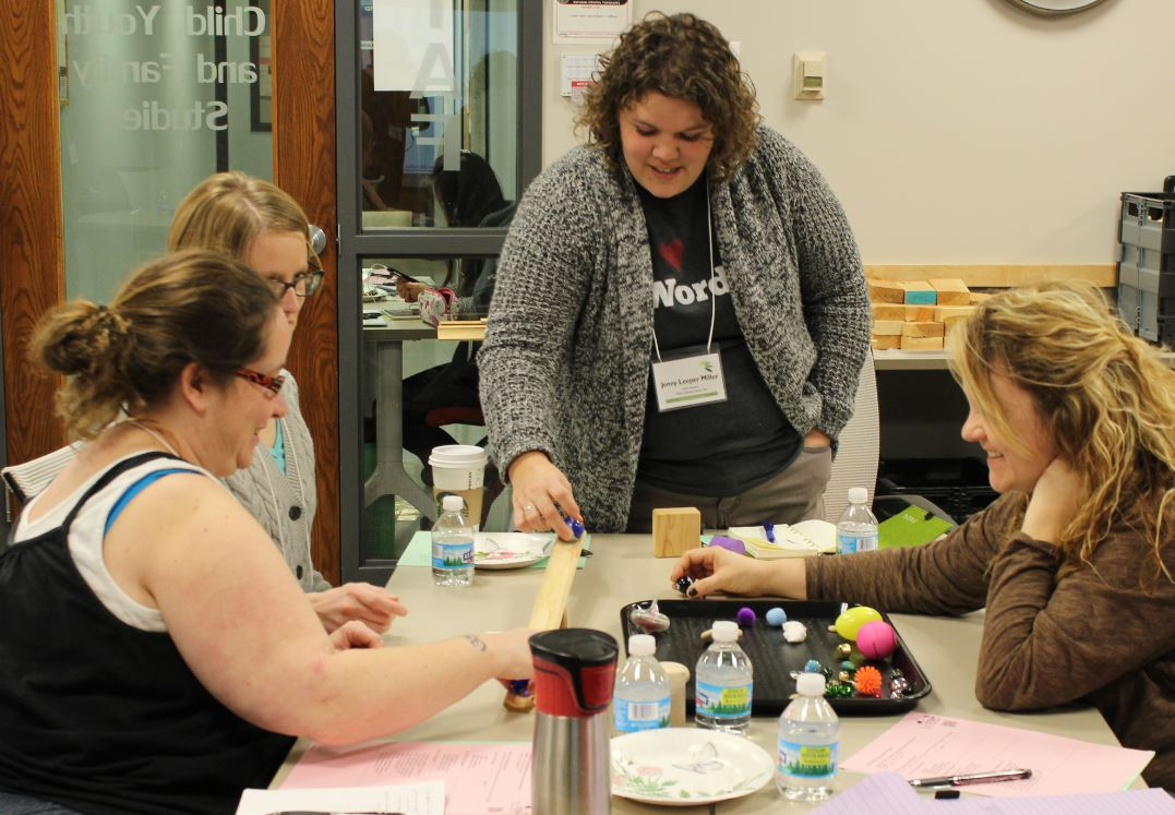 Teachers at Ramps & Pathways workshop